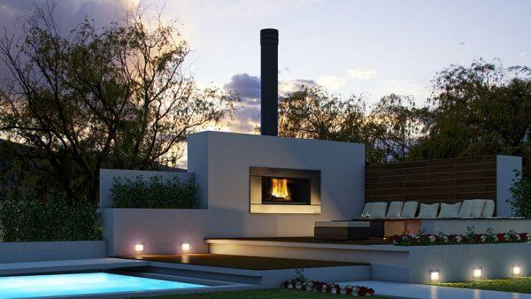 Barbeques & Outdoor Entertaining ESCEA OUTDOOR COOKING FIRE EW5000