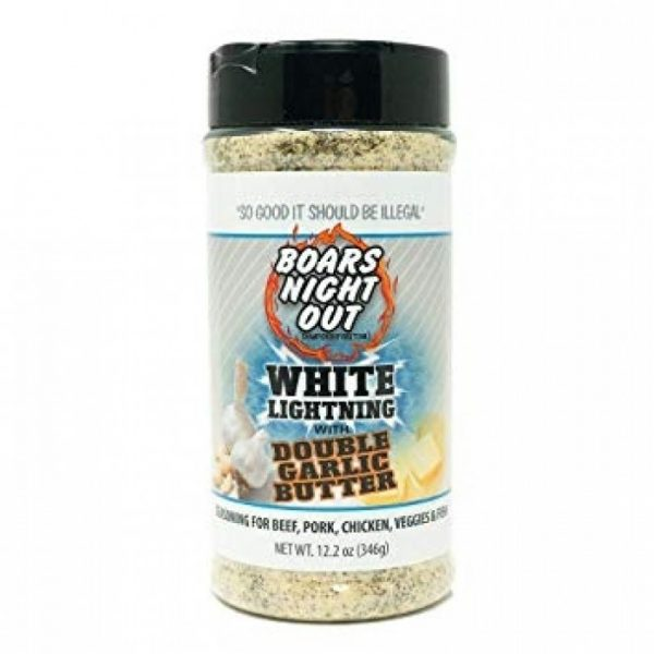 Championship Rubs & Sauces Rub Boars Night Out Whit Lightening with Double Garlic