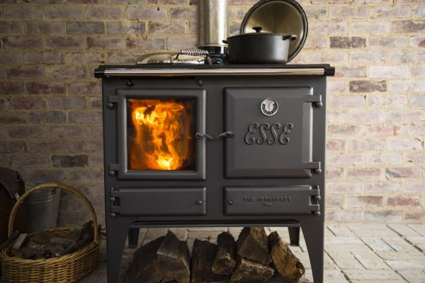 Cooking Cooker ESSE Ironheart  DELUXE Wood Stove