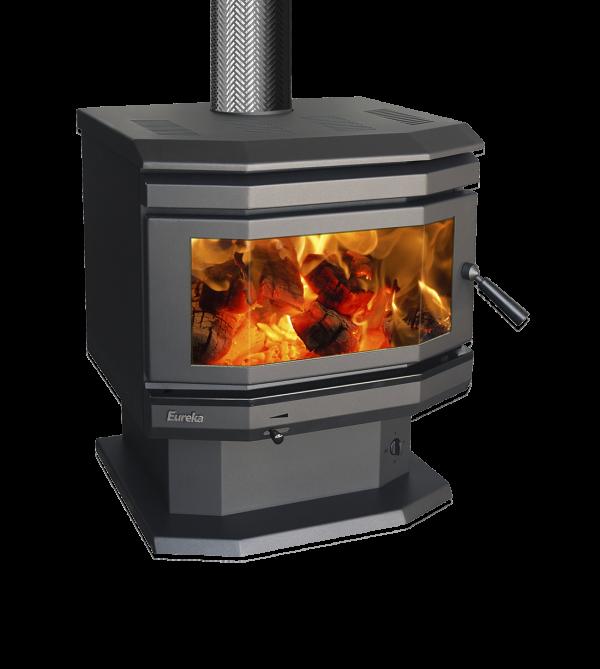 Freestanding Wood Heaters Wood Heater Eureka Emerald Heats up to 220m2