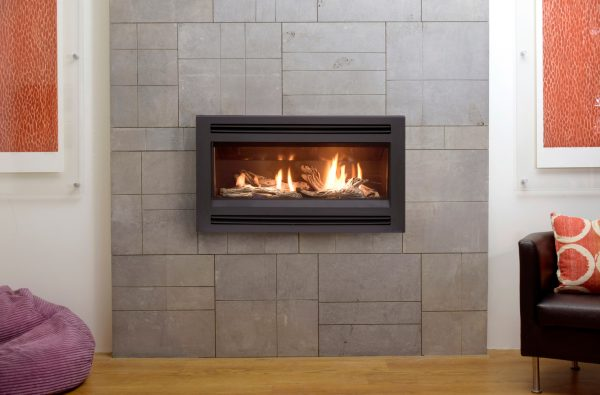 Freestanding Gas Log Fires Pacific Energy Esprit Glass or Log Gas Fire