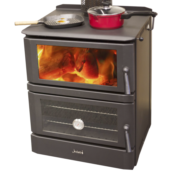 Cooking Wood Heater Jindara Cottage Cooker – Heats up to 120 m2 plus cooking