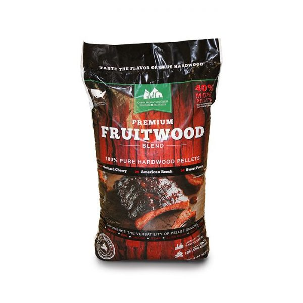 Smoker & Grill Accessories Pellets Premium Hardwood Fruitwood Blend  GMG-2003