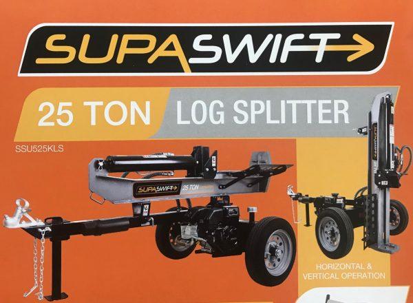 Chainsaws & Log Splitters SUPERSWIFT 25 TON Log Splitter