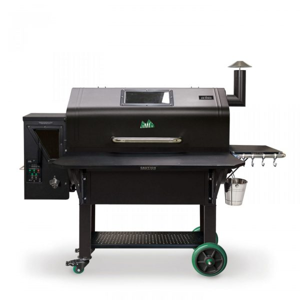 Smokers and Grills Pellet Grill GMG Jim Bowie PRIME WiFi Black Hood