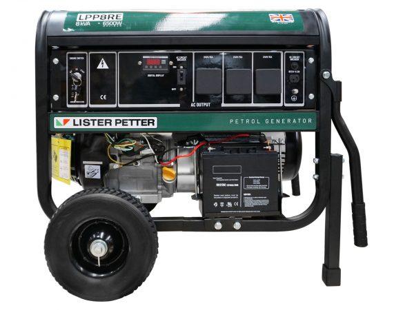 Generators Generator Lister Petter 8 kVa Portable E-Start