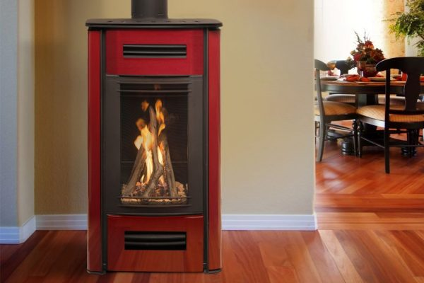 Freestanding Gas Log Fires Gas Log Fire Pacific Energy Mirage 18