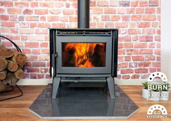 Freestanding Wood Heaters Wood Heater  Pacific Energy Alberni – Heats 300+m2