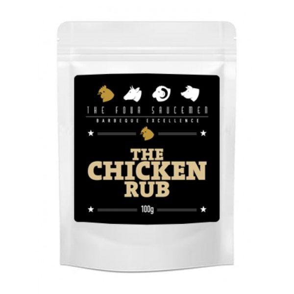 Championship Rubs & Sauces RUB FOUR SAUCEMAN CHICKEN RUB 100G