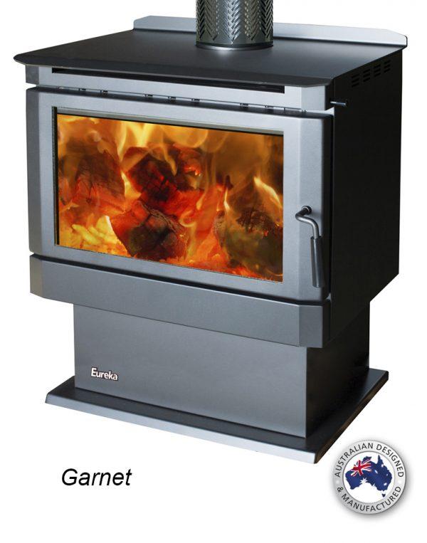 Freestanding Wood Heaters Wood Heater Eureka Garnet Heats up to 320m2