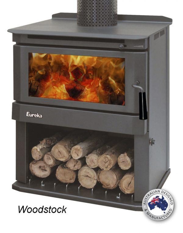 Freestanding Wood Heaters Wood Heater Eureka Woodstock Heats up to 180m2