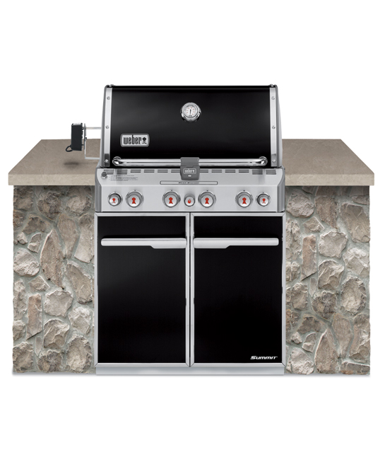 Barbeques & Outdoor Entertaining Weber Summit E – 460 In-Built LP