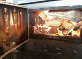 Christo and Sophel Wood Boiler - Massive Firebox